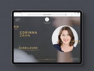Corinna Zahn Website